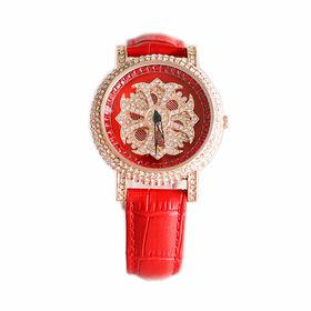 Lady's Rhinestone Fashion Watch from  Ningbo Fashion Accessories Factory