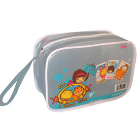 PVC zipper bag from  Hot and Cold Products Co. Ltd
