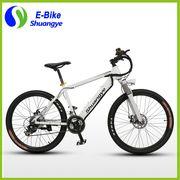 China Shuangye 26'' 36V Hidden Battery Mountain Electric Bike