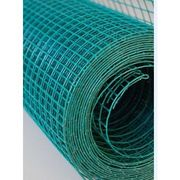 China Green PVC welded wire mesh, PVC coating,smooth surface, uniform