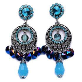 New Arrival Rhinestone Drop Earrings from  Chanch Accessories International Co. Ltd