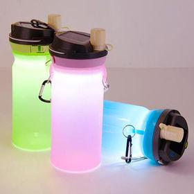 Botella de agua impermeable del silicón