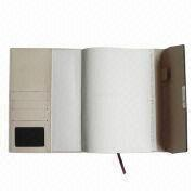 China Notebook, Made of PU/PVC Leather, OEM Orders are Welcome