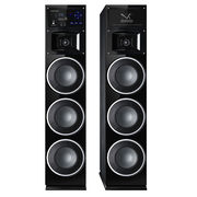 China 2017 New Model 3 Bass Woofer Active Bluetooth Speaker Systems with Bluetooth, FM, Wireless Mic