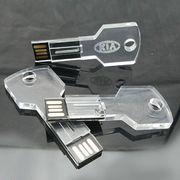 Crystal LED USB Memory Sticker from  Shenzhen Sinway Technology Co. Ltd