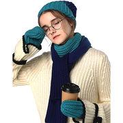 Women winter acrylic knit set from  Hangzhou Willing Textile Co. Ltd