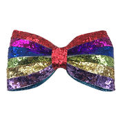 Rainbow iridescence colors hair clips from  HK Yida Accessories Co. Ltd