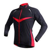 Women waterproof breathable cycling jacket from  Fuzhou H&f Garment Co.,LTD