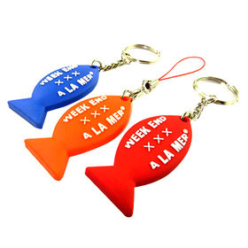 promotional PVC keychain key tag from  Hot and Cold Products Co. Ltd