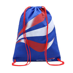 Durable Blue Promotional Drawstring Bags from  Chanch Accessories International Co. Ltd
