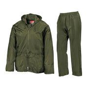 PU rain jacket/trousers suits from  Fuzhou H&f Garment Co.,LTD