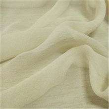 100% pure silk chiffon georgette fabric from  Suzhou Best Forest Import and Export Co. Ltd