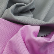 UV-Cut/Anti-bacterial Pique Fabric Made of Poly Full Dull and Spandex