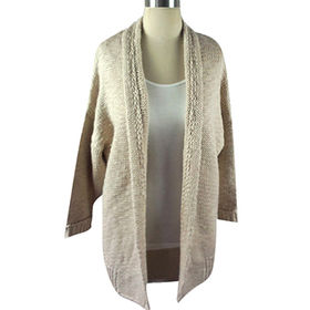 Ladies' knitted sweater from  Hangzhou Willing Textile Co. Ltd