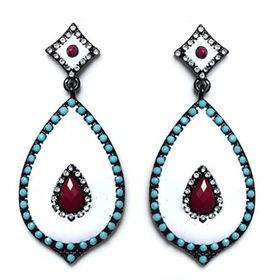 Rhinestone Drop Earrings from  Chanch Accessories International Co. Ltd