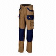 Workwear trousers from  Fuzhou H&f Garment Co.,LTD