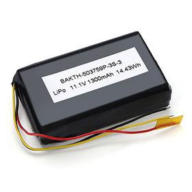 Lithium-ion polymer battery pack from  Shenzhen BAK Technology Co. Ltd