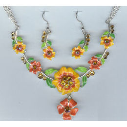 Necklace set from  Ningbo Fashion Accessories Factory