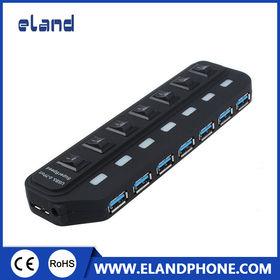 USB 3.0 HUB 4 PORTS USB 2.0 HUB+ 3 PORTS USB 3.0 from  Elandphone Electronic Co. Ltd