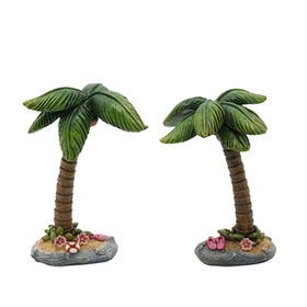 Polyresin Miniature Fairy Garden Coconut Tree from  Quanzhou Leader Industry Limited