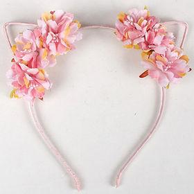 New Arrival Cute Cat Ear Flower Headbands from  Ebolle Fashion Accessories Co. Ltd