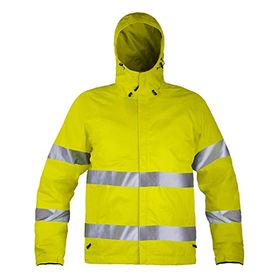 Men's high visibility safety jacket from  Fuzhou H&f Garment Co.,LTD