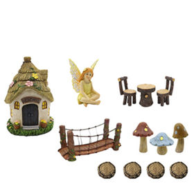 Polyresin Decorative Miniature Dollhouse Fairy from  Quanzhou Leader Industry Limited