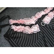 Hong Kong SAR Babydolls, made of lace, available size S, M, L, XL, customized accepted