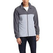 Men's softshell polar fleece jacket from  Fuzhou H&f Garment Co.,LTD