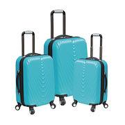 "20/24/28"" 3-piece ABS/PC Luggage set 4 Weels from  Shanghai Alliance Glory International Co. Ltd"