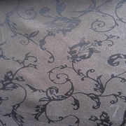 100% polyester jacquard microfiber suede fabric from  Suzhou Best Forest Import and Export Co. Ltd