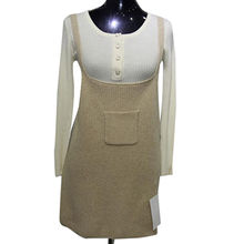 New fashion pure cashmere knitted sweater skirt from  Inner Mongolia Shandan Cashmere Products Co.Ltd