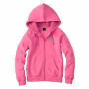 High-quality women's zip hoodies from  Fuzhou H&f Garment Co.,LTD
