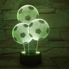 3D LED light for decoration from  Rico Technology Co. Ltd