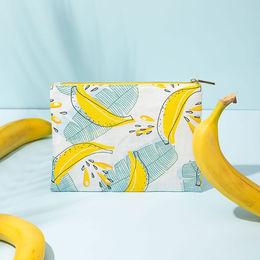 Banana Fiber Cosmetic bag