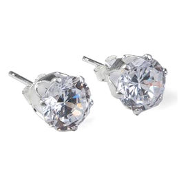 Unisex simple 925 sterling silver stud earrings from  Ningbo Fashion Accessories Factory