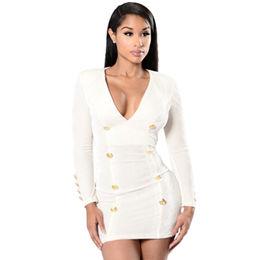 White Long-sleeved Velvet Dress from  Nan'an City Shiying Sexy Lingerie Co. Ltd