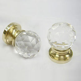 Crystal Mortise Knob from  Kin Kei Hardware Industries Ltd