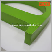 China Custom any color and size sign letter and logos for indoor decoration