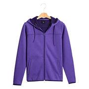 Plain Women Sweatshirt from  Fuzhou H&f Garment Co.,LTD