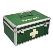 Aluminum first aid box from  NINGBO SINCERECARE IMPORT AND EXPORT CO.,LTD