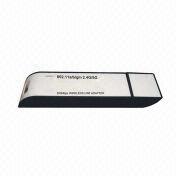11N 300Mbps Wireless USB Card, 20/40MHz Bandwidth, High-speed USB2.0 with CE, FCC Marks