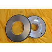 China Resin bonded diamond wheel, polishing effect, grinding wheel sharp, difficult to plug