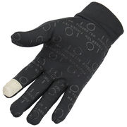 China Long fingers cycling gloves, the palm coated silicon for the best gripping bike handle