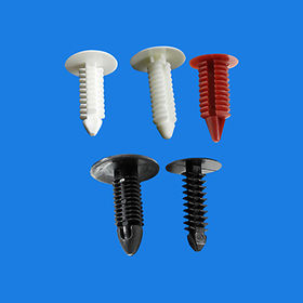 Plastic push rivet from  Ganzhou Heying Universal Parts Co.,Ltd