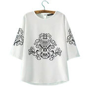 Women's round-neck T-shirts from  Meimei Fashion Garment Co. Ltd