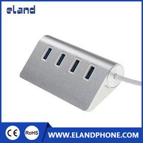 USB 3.0 4 Port USB Hub Aluminum shell from  Elandphone Electronic Co. Ltd
