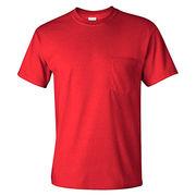 Pocket T-shirt from  Fuzhou H&f Garment Co.,LTD