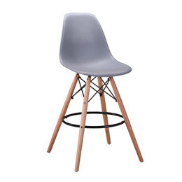 Coloured Plastic Dining Bar Chairs from  Zhilang Furniture Co.,Ltd