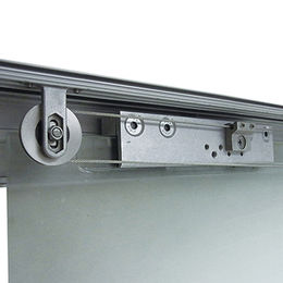 Synchronous double aluminum sliding system from  Door & Window Hardware Co